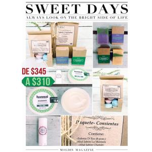 Paquete Consientas, (5 piezas de productos del cuidado personal)