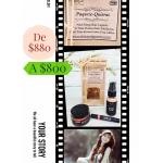 Paquete Quieras, (3 piezas de cosméticos biológicos)