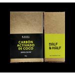 Jabón Ahal CARBÓN ACTIVADO DE COCO  (facial) 100 gr.
