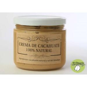 Crema de cacahuate 100% natural, 300 grs